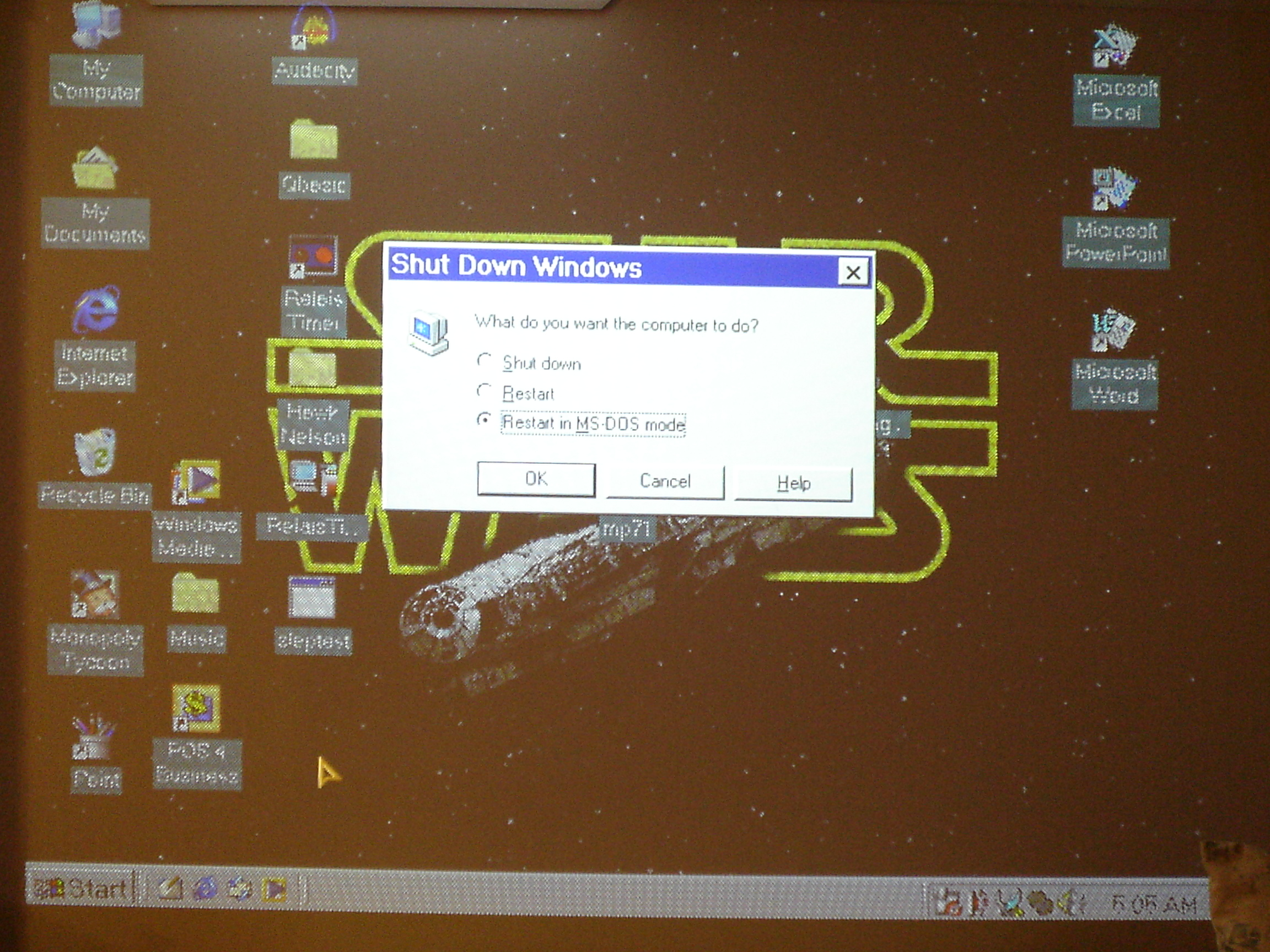 Picture of Configure Control Software