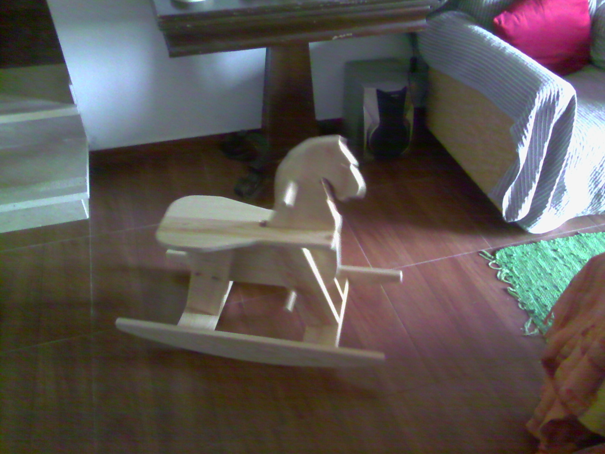 Picture of WOODEN ROCKING HORSE