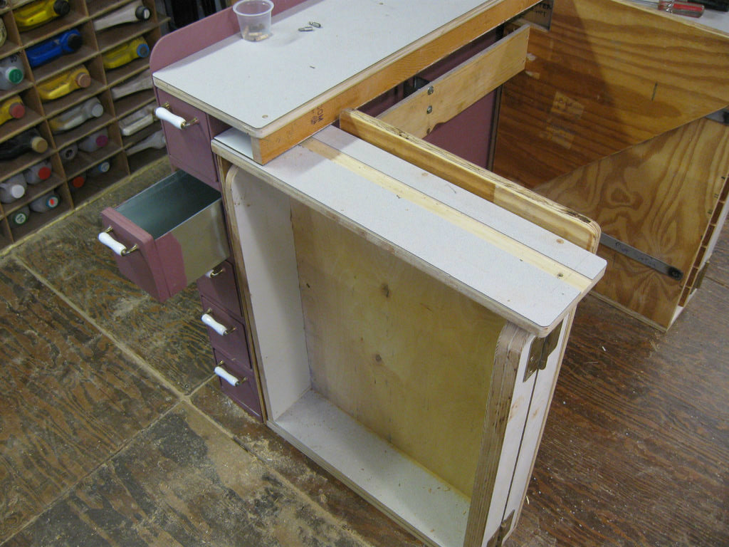 Picture of Sheet Metal Drawers. (3)