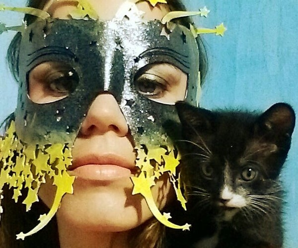 Starry Eyed Laser Cut Leather Mask (no Sew, No Tools Required)