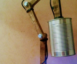 DIY Pallet Lamp (Rustic)
