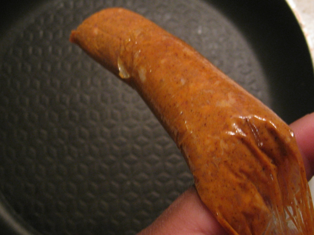 Picture of Remove Casing From Chorizo Link