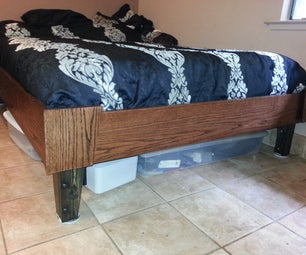 Queen Size Bed That Breaks Down for Moving.