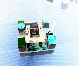 Tinyduino LEGO GPS battery powered Logger DIY