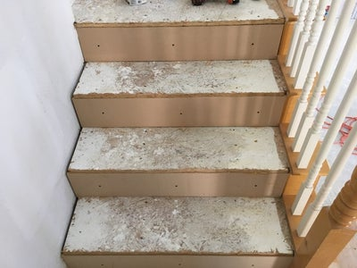 """Adding the 1/2"""" MDF to the Risers"""