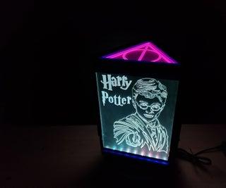 Harry Potter Rotating RGB Display