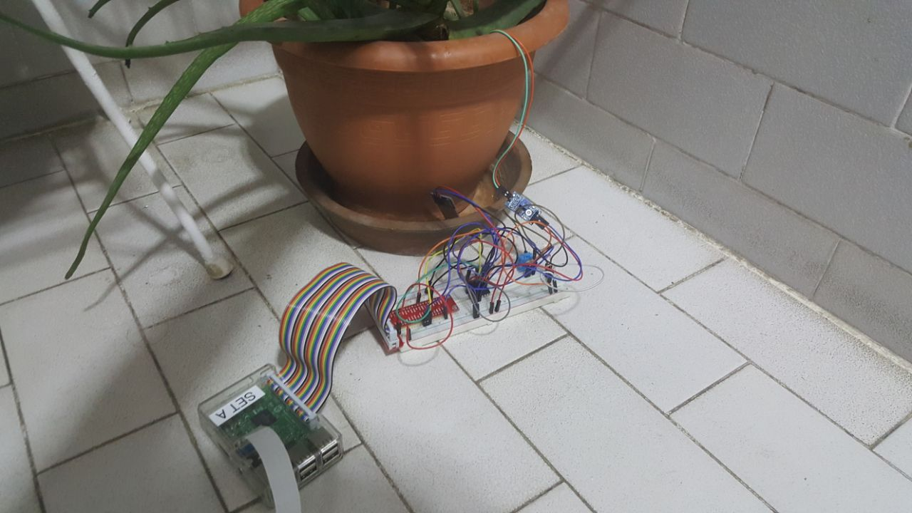 Picture of IoT Plant Monitoring System (With IBM IoT Platform)