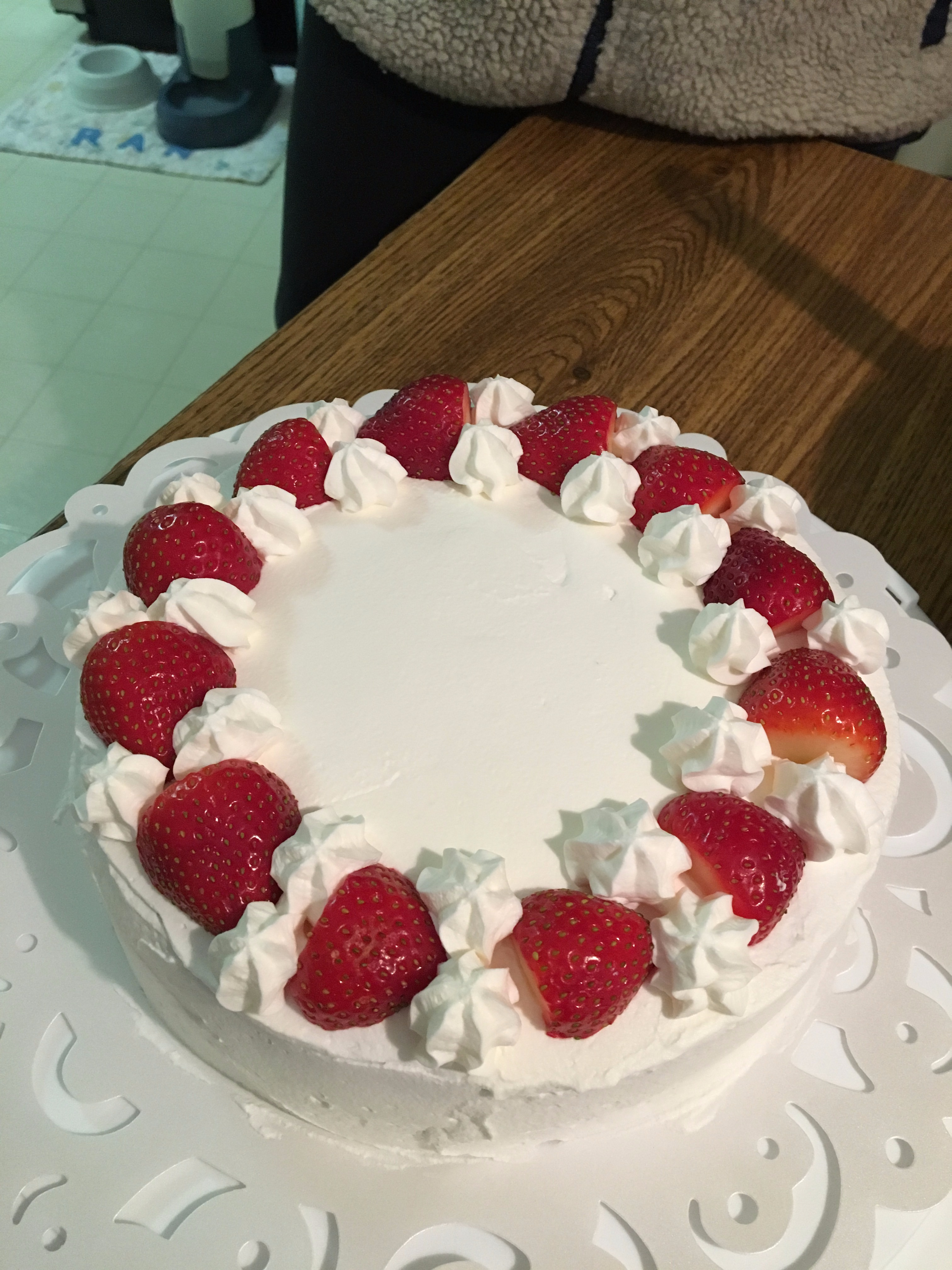 Picture of Japanese Style Strawberry Short Cake