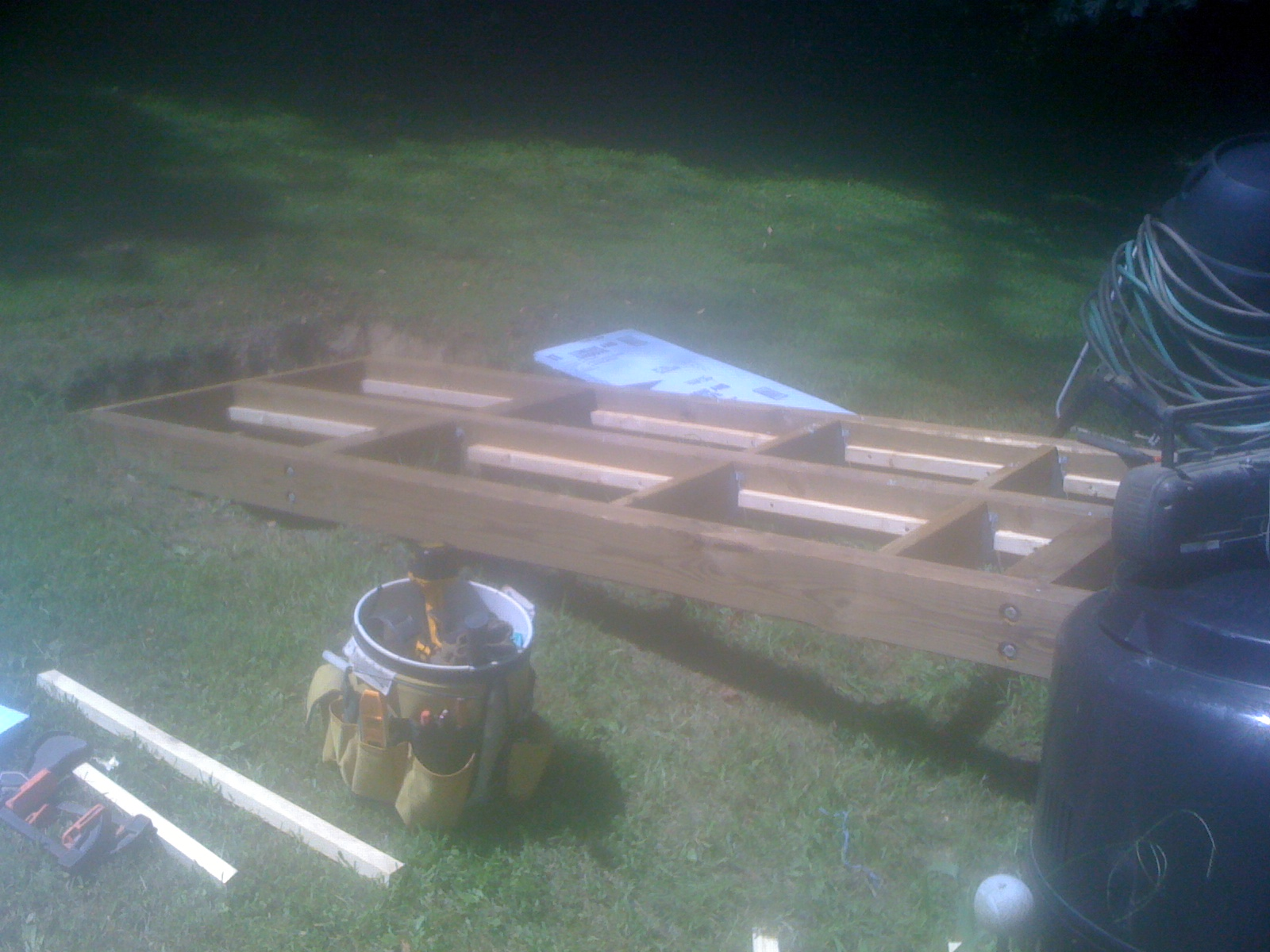 Picture of Building the Base or Floor