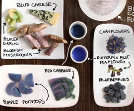 Blue Foods! Colorful cooking without artificial dyes