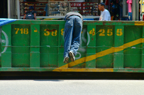 Picture of Dumpster-Diving
