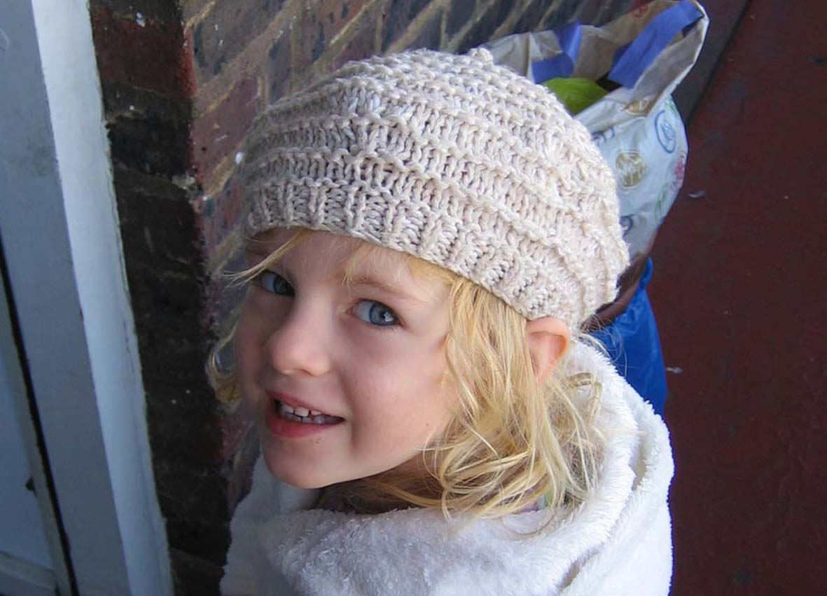 Picture of Classic Knitted Beret