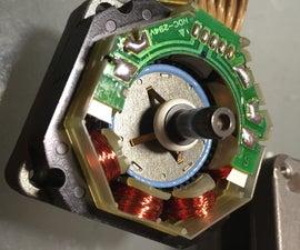 Convert a Unipolar Stepper Motor to Bipolar