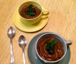 Creamy Avocado Chocolate Pudding