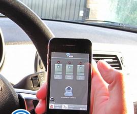 Garage Door Opener with iphone (Arduino project)