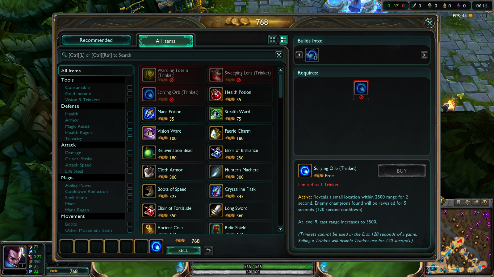 Picture of Other Trinket Items