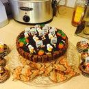 Graveyard Cake- Super Rich Flavor But EASY!