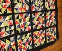 Triangle Patch Work Quilt