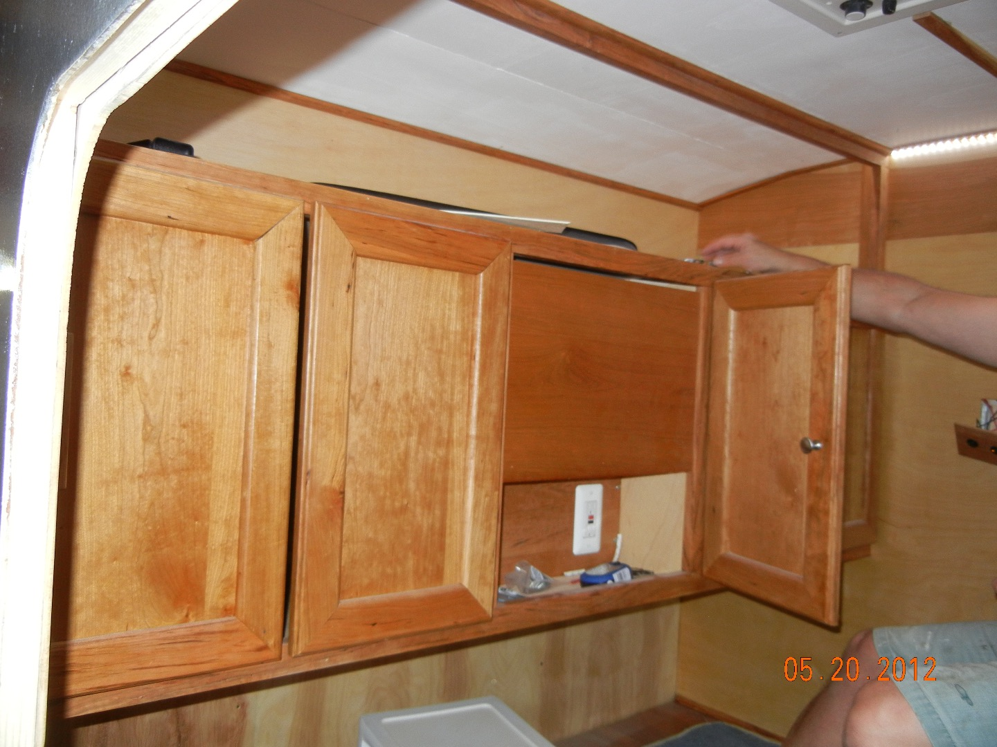 Picture of Sealing / Finishing the Interior