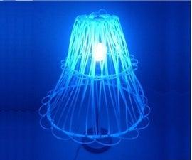 100% Zip Tie Lamp Shade