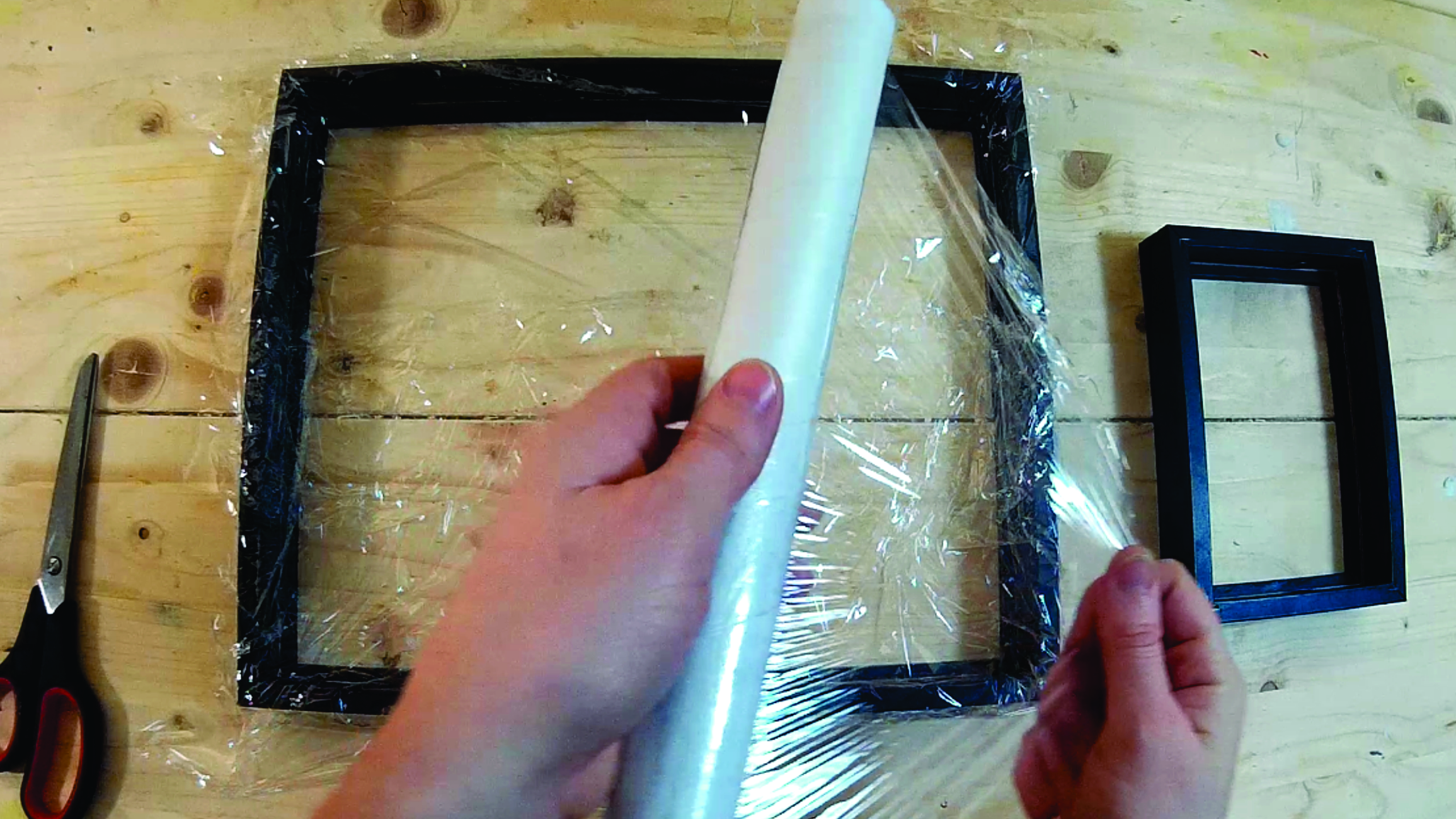 Picture of Protect Your Frame With Wrapping Film