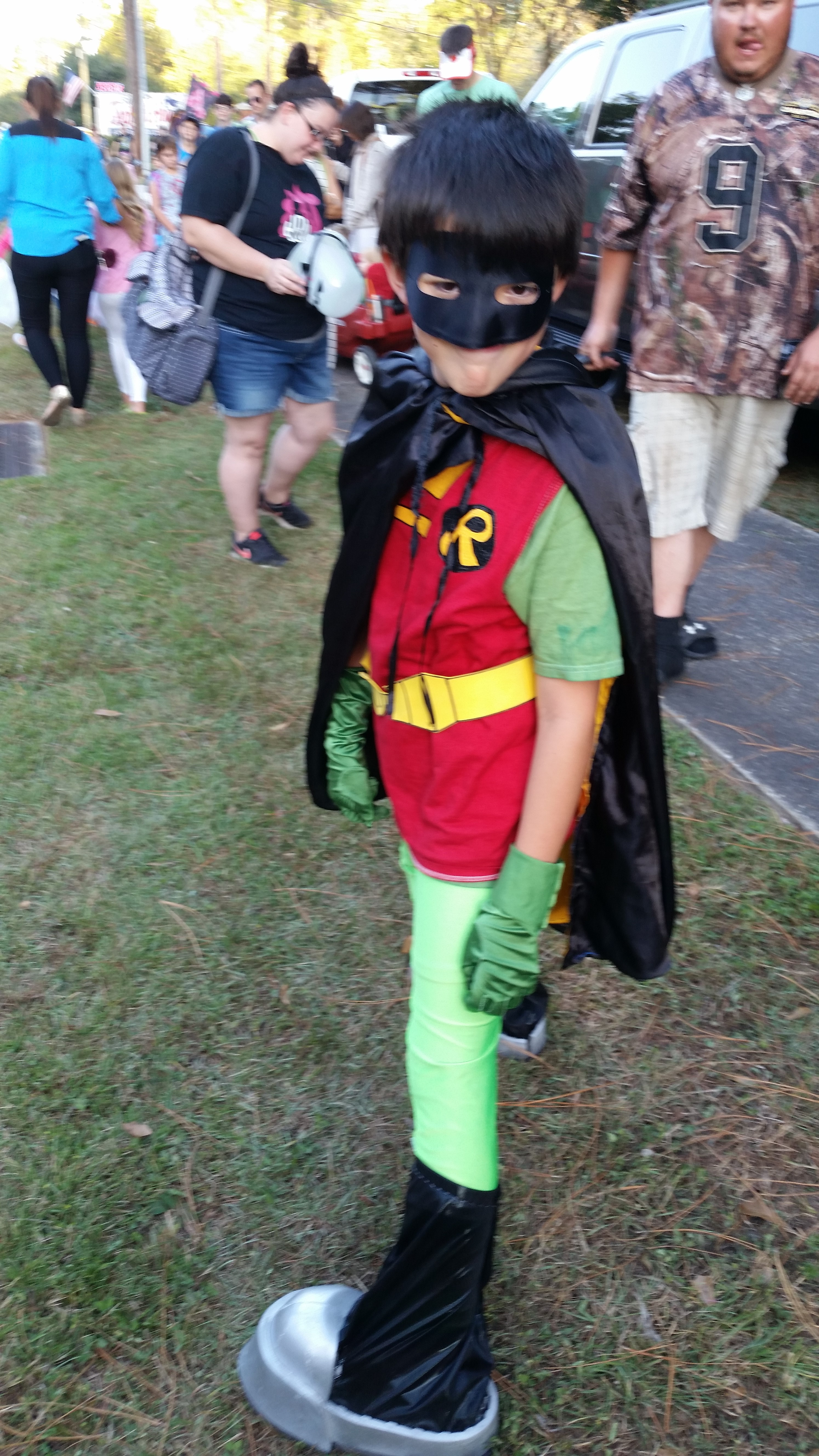 Picture of Robin Teen Titans Go Costume