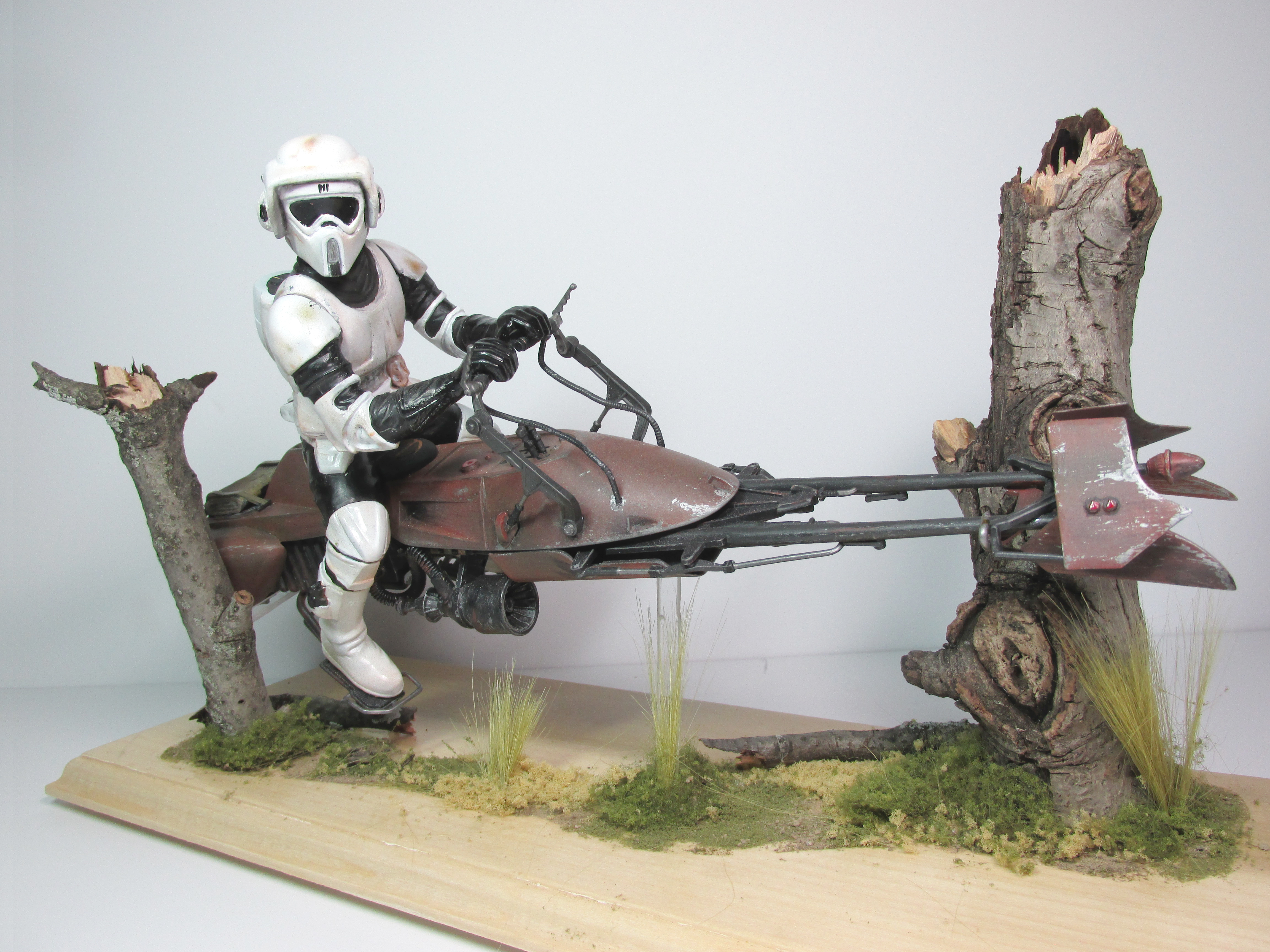 Picture of Vintage MPC Scout Trooper Model - Mod