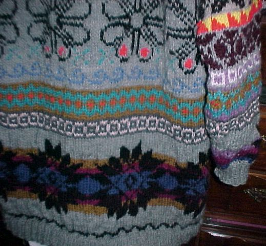 Picture of FEBRUARY Fair Isle SWEATER