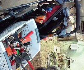 Tool Cart (re-purposed stroller)