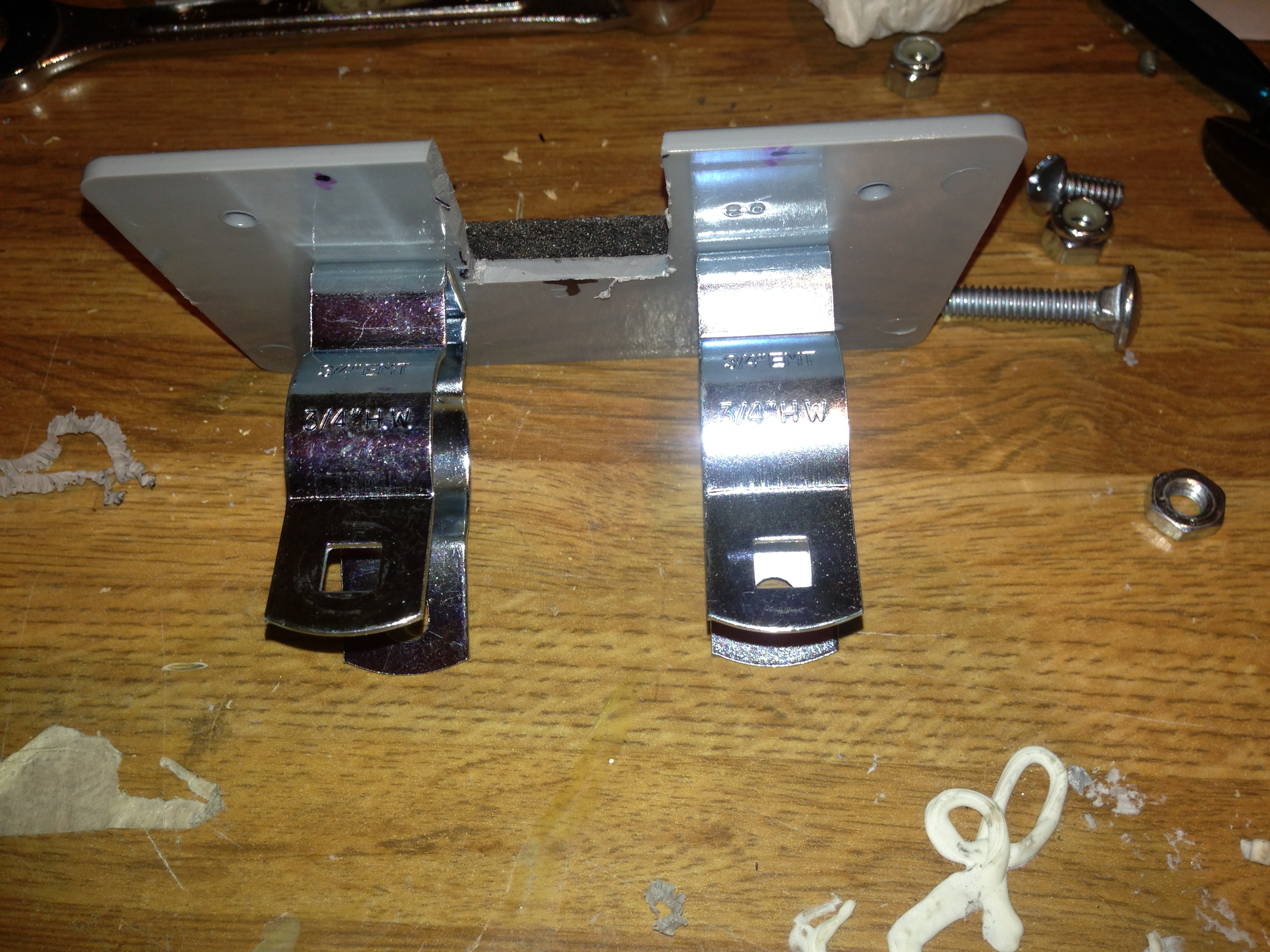 Picture of Attach the Mounting Brackets