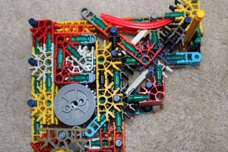 Customizable Knex Lock and Key (Prototype Cylinder Mechanism)