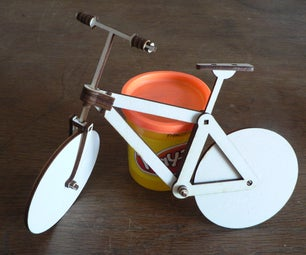 Bicyclaser - the Flatpack Wooden Laser Cut Bike Without Pedals - Draisine