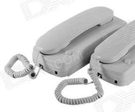 2 Phone Intercom With Buzzers...