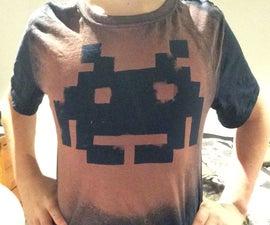 How to Make a Custom Shirt Using Bleach