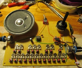Atari Punk Organ, a simple 555 synthesizer