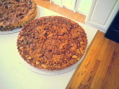 The Brown Sugar Filling: Baking