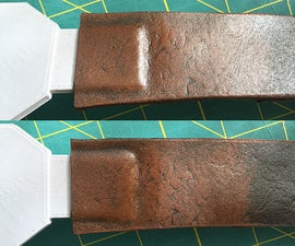 Faux Leather Belts and Straps With Craft Foam
