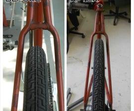 Spreading or adjusting a bicycle frame