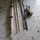 Bamboo Bow and Arrow