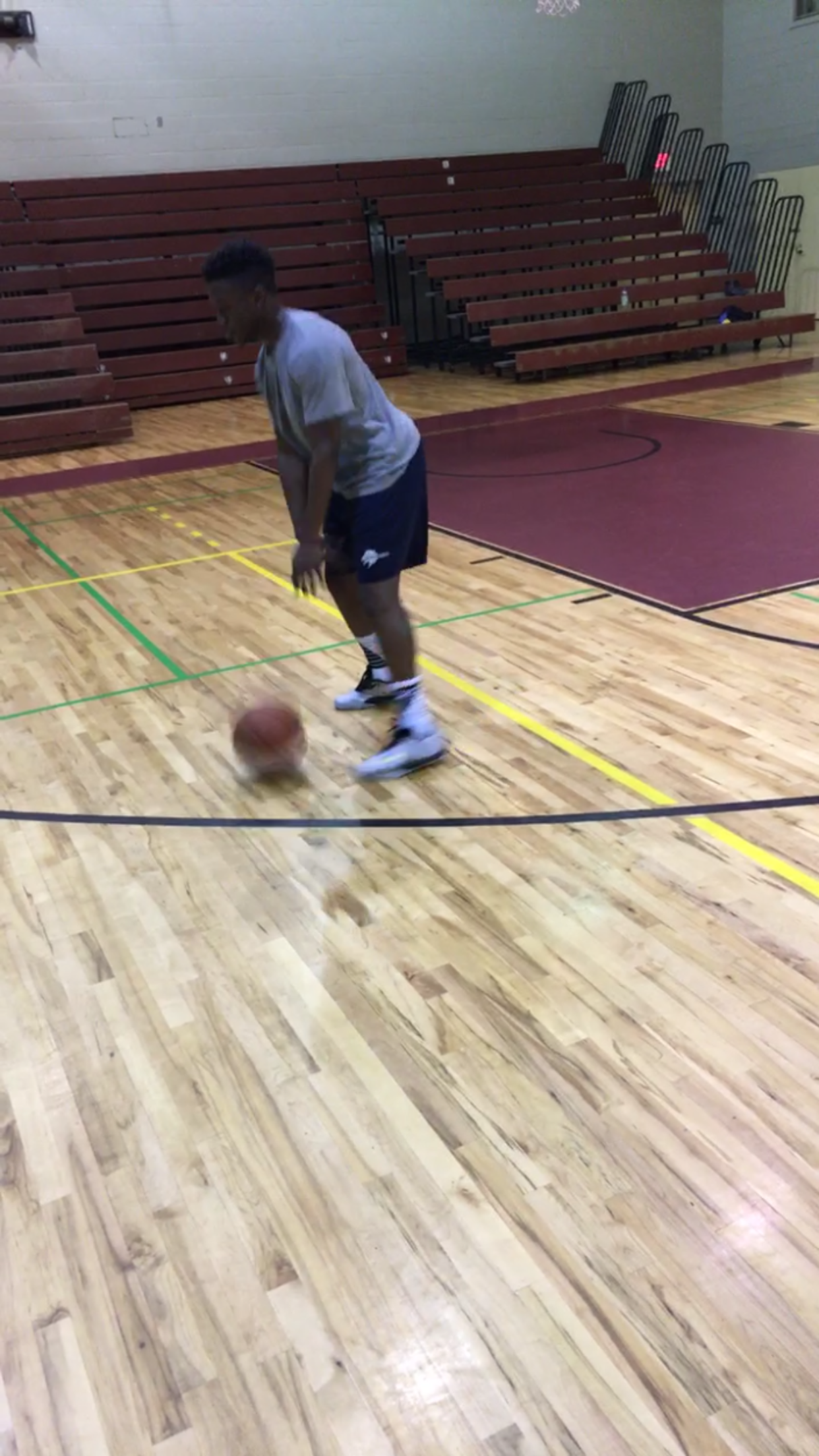 Picture of Step One: Get Warmed Up With Dribbling