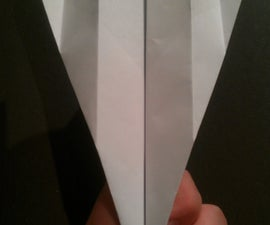 Long Flying Paper Airplane
