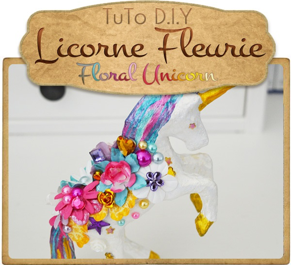 Picture of { FLORAL UNICORN }