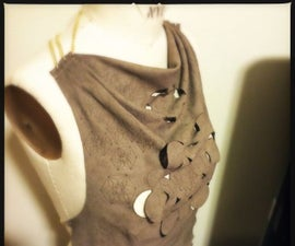 Designing and Laser Cutting a Simple Leather Top