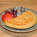 Molasses Sourdough Pancakes