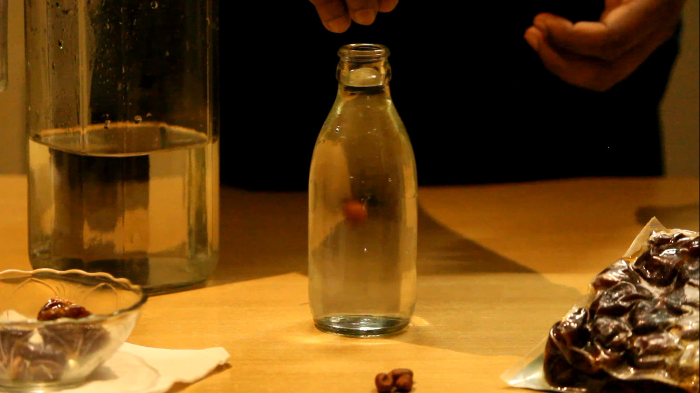 Picture of Germination Method (Before: in Bottle)