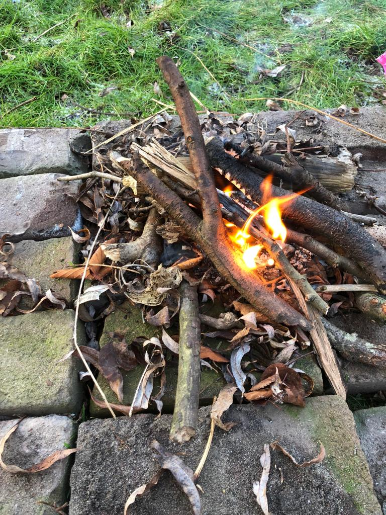 Picture of Easy and Fun Campfire