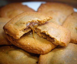 Easy Salted Caramel Peanut Butter Cookies