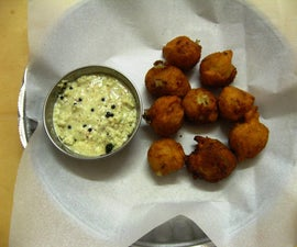 Potato Bonda : an Easy to Make Snack Food
