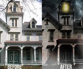 Haunted House Photo Edit