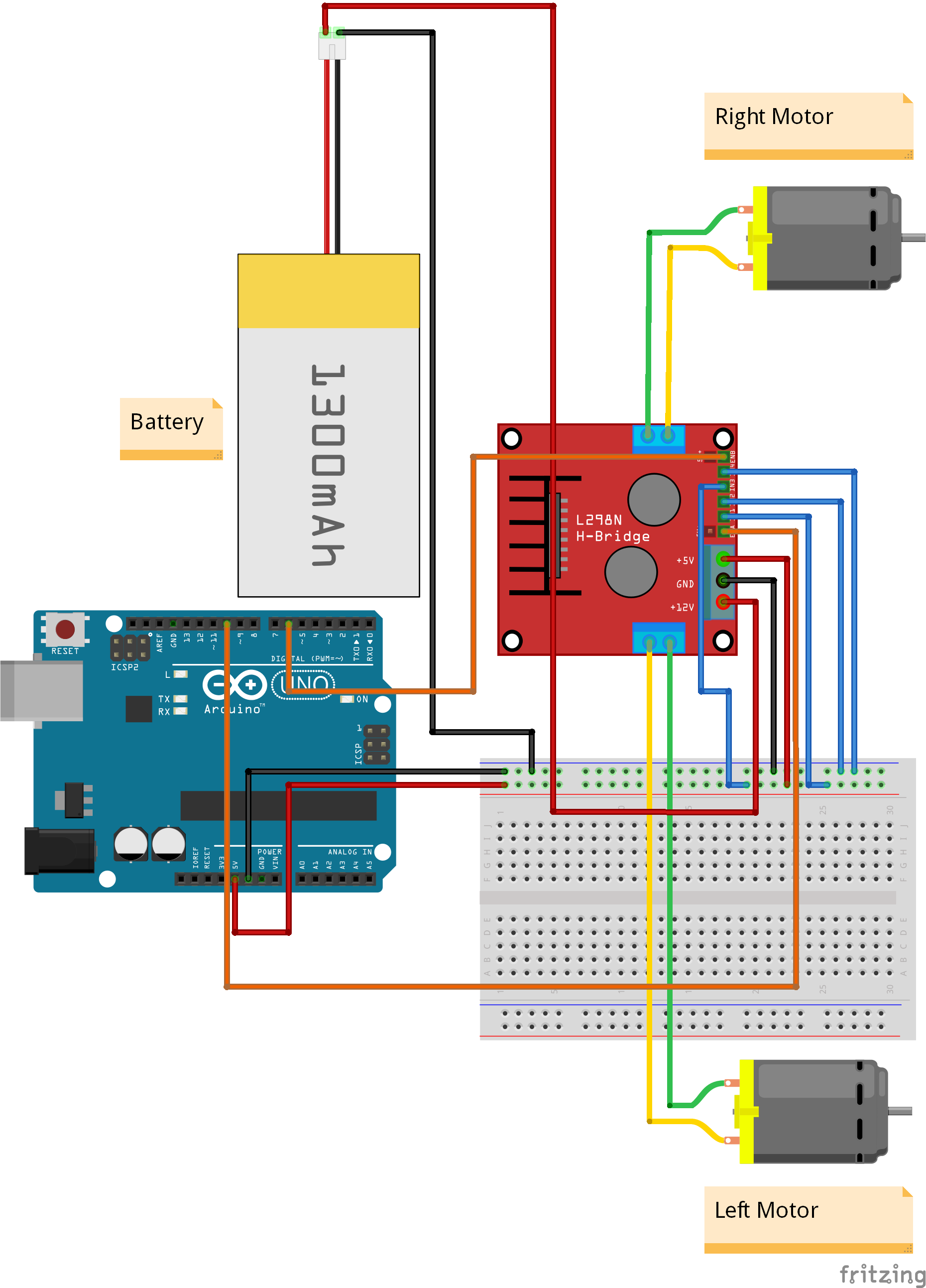 Picture of Circuit Diagrams of the Bug